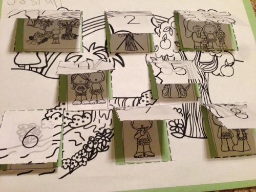Adam & Eve Flap Sheet Sequence