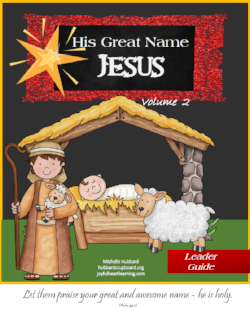 His Great Name Volume 2 Cover.png