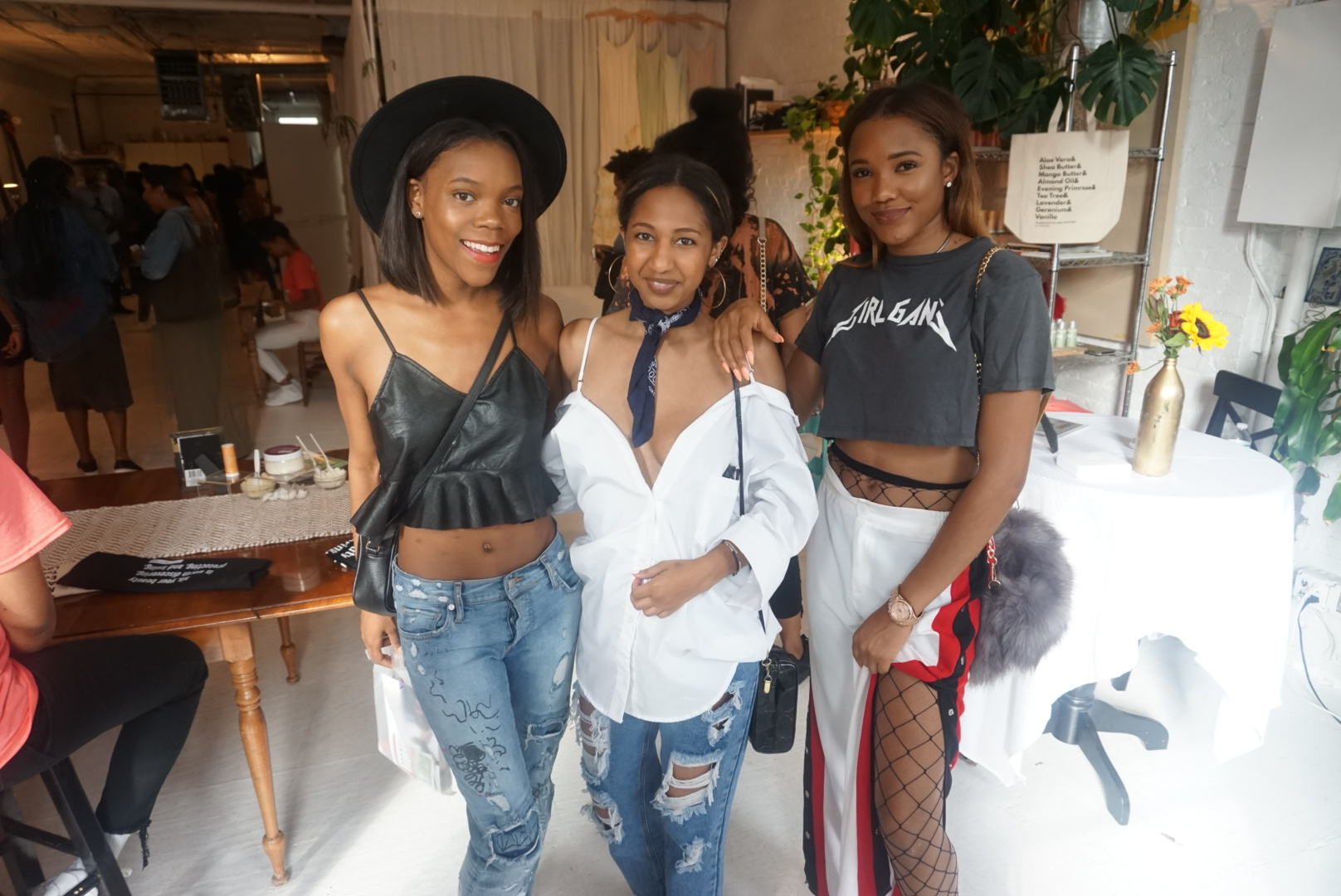 Brittney + Chandler + Shema = 3/5 of  Creative Girl Gang
