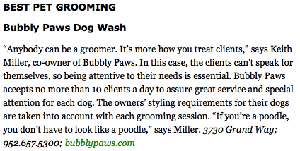 Best Dog Groomer in Minneapolis