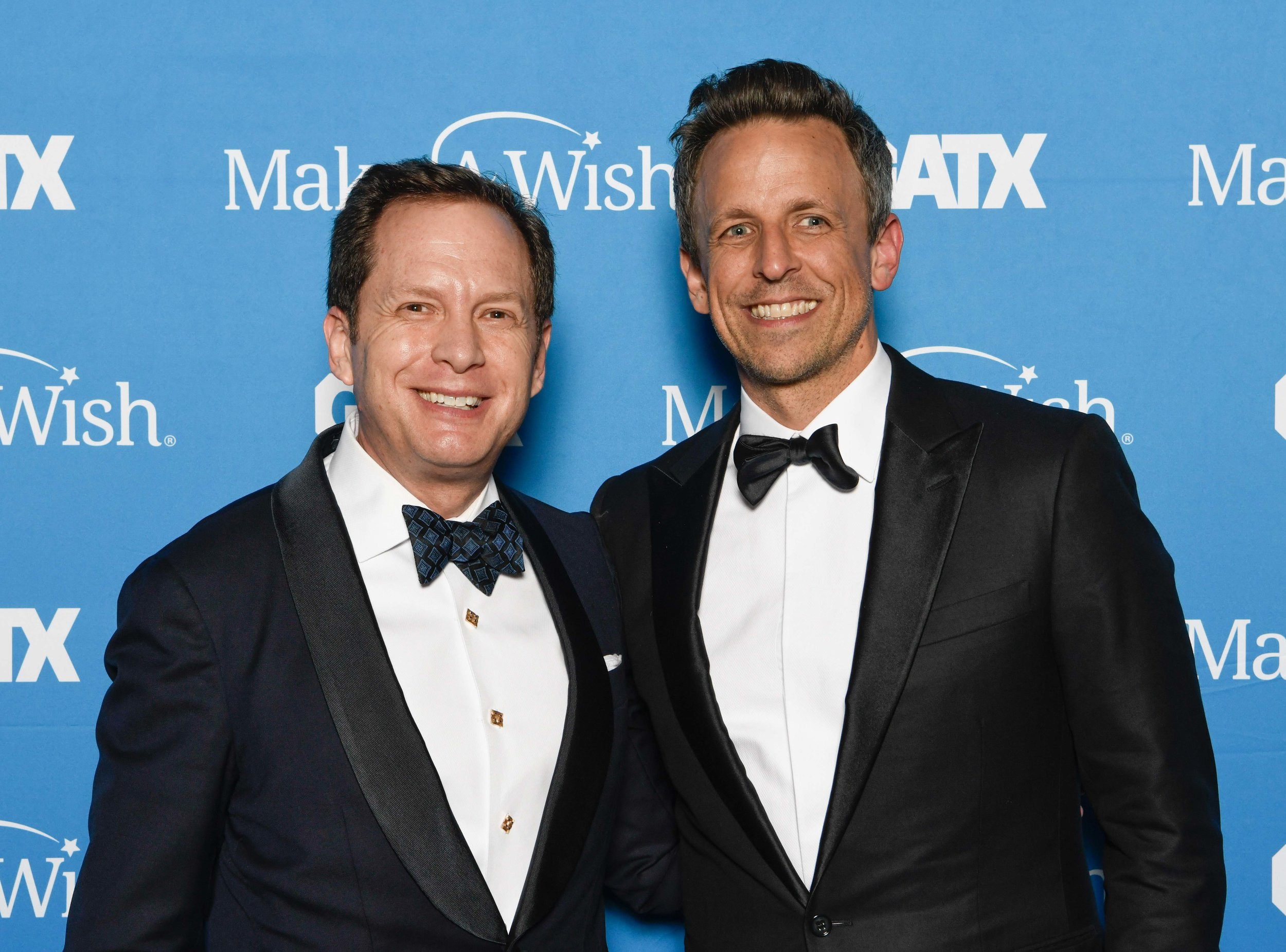 With Seth Meyers