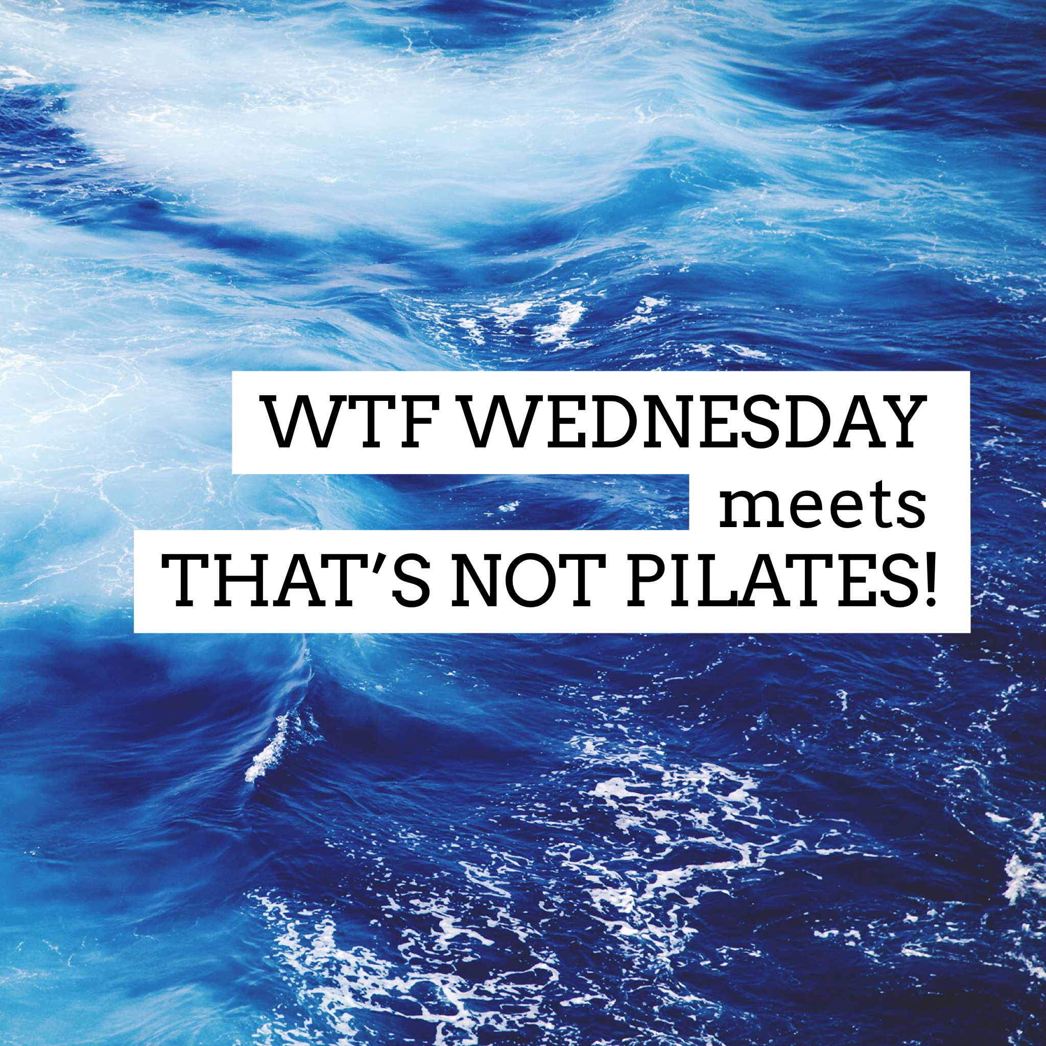 File this one under: That's Not Pilates and WTF. - What the hell is hot Pilates!? Why oh whyyyy... you want to step up your practice? Switch up your spring resistance or hold positions for longer instead of turning up the thermostats! *Cue eye roll*