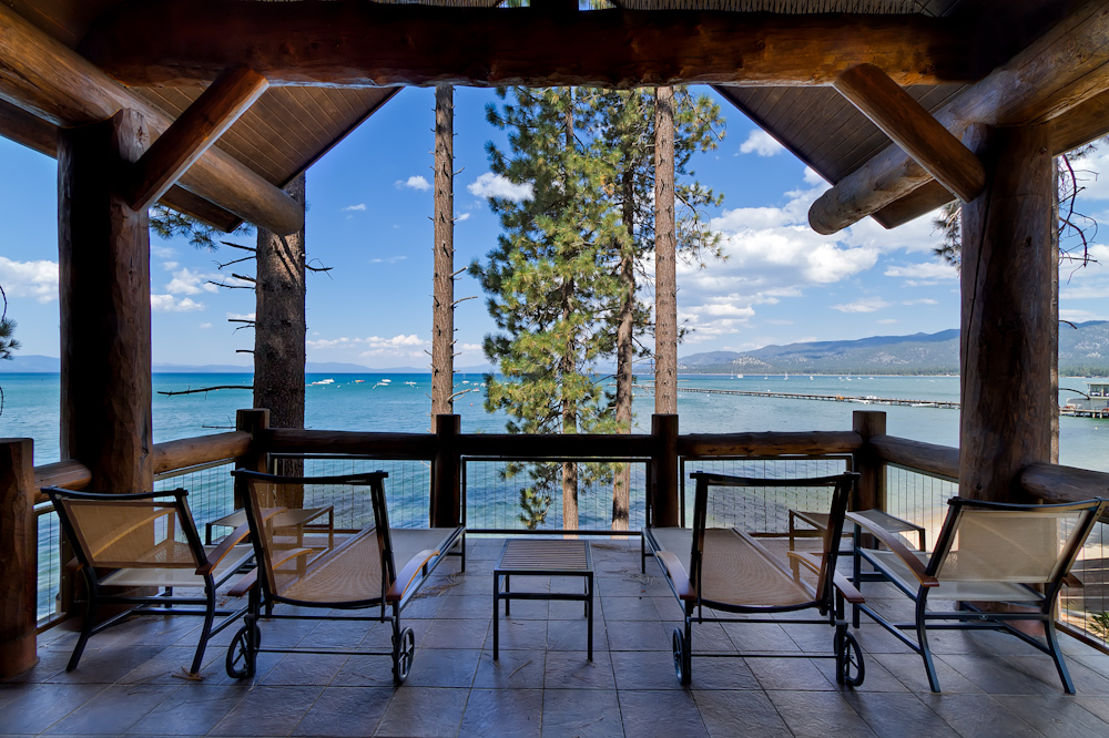 The amazing lakefront location offers unparalleled views from your private patio