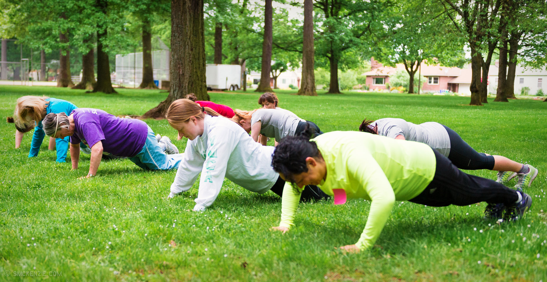 60-Minutes of Games, Body Weight Training, and Fun
