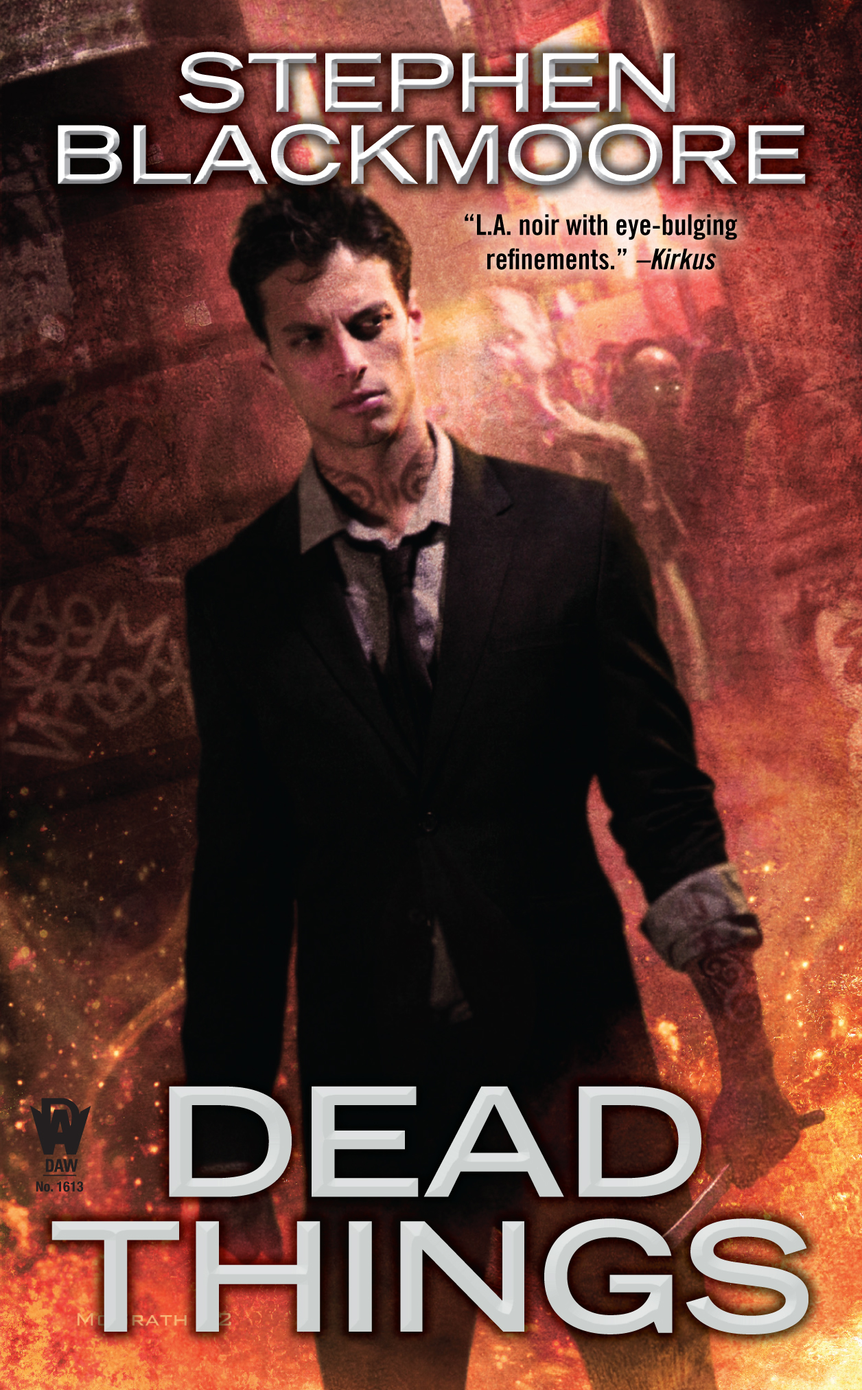 DEAD THINGS - ERIC CARTER #1