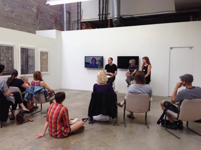 One Hour Photo, with the artists exhibiting in Residual Noise. Artists Barrie Jones, Kate Henderson, and Pascale Théorêt-Groulx in conversation.