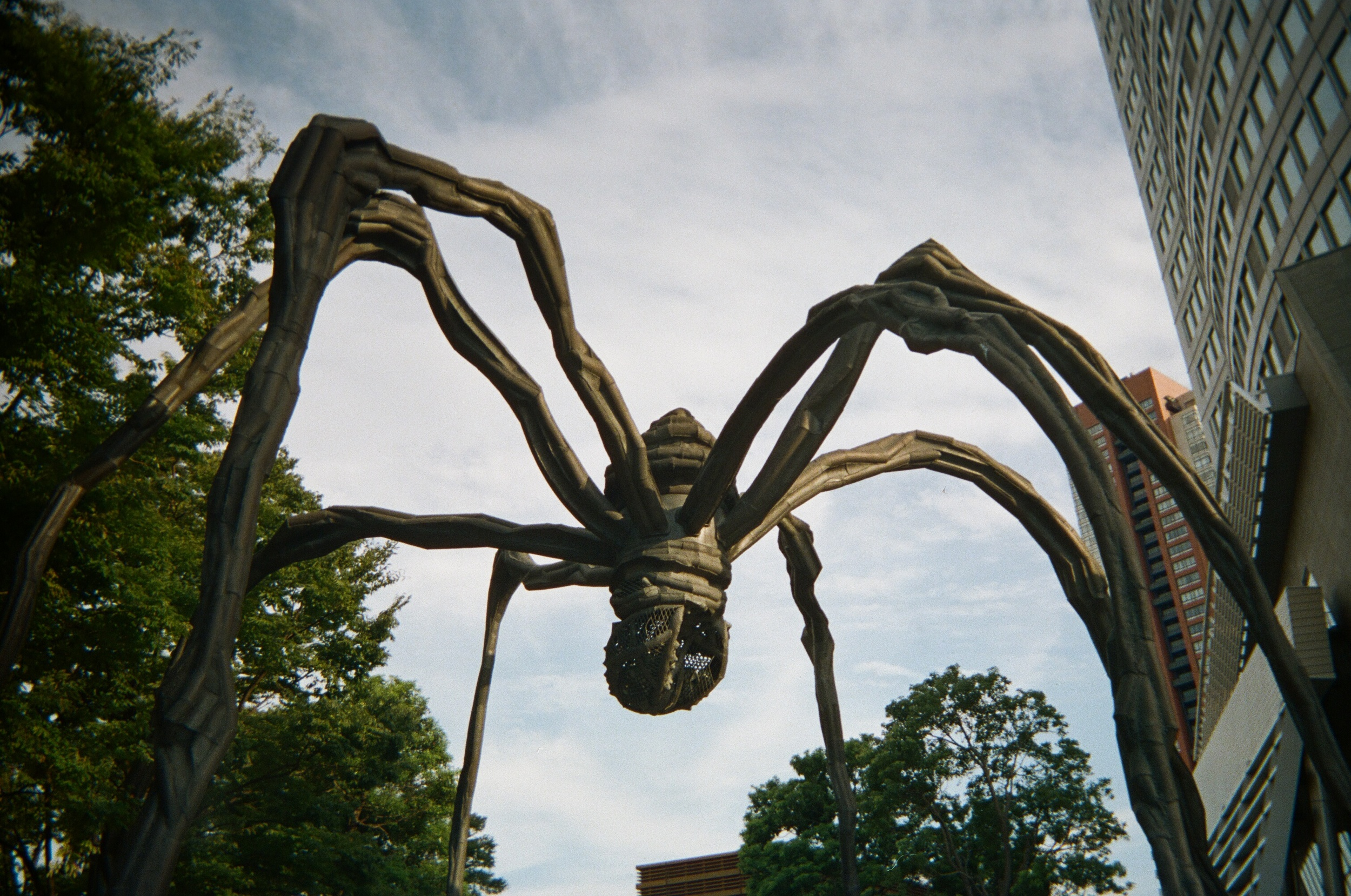 Maman! How funny to see something that reminds me of Ottawa-- of all places!-- in Roppongi, just chilling outside the Mori Art Museum.
