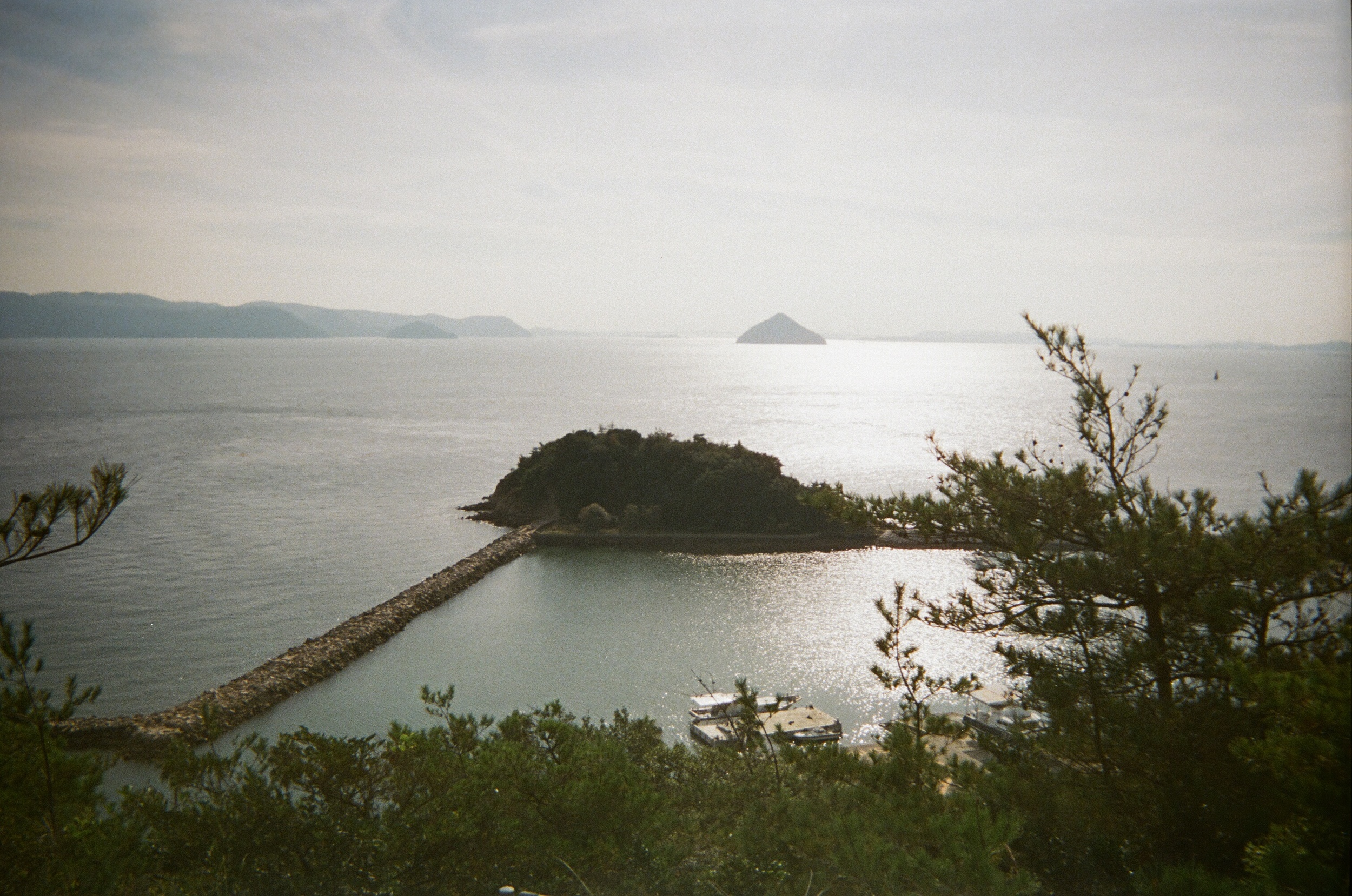 On Naoshima looking out towards the Seto Inland Sea. On Naoshima everything is beautiful, by nature or design- it's hard to tell the difference between the two.