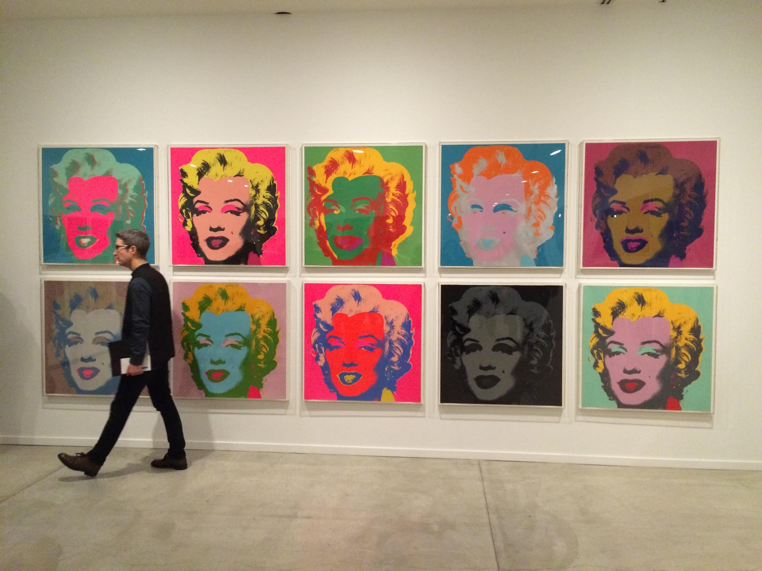 Andy Warhol at  MashUp , photo by Helen Wong