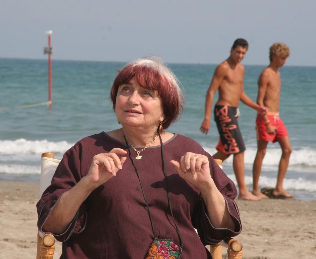 Filmmaker Agnès Varda
