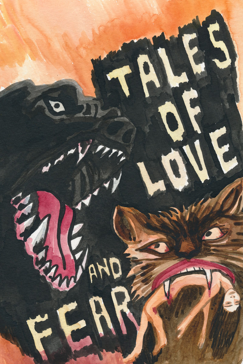 Poster for Lucy Raven's Tales of Love and Fear