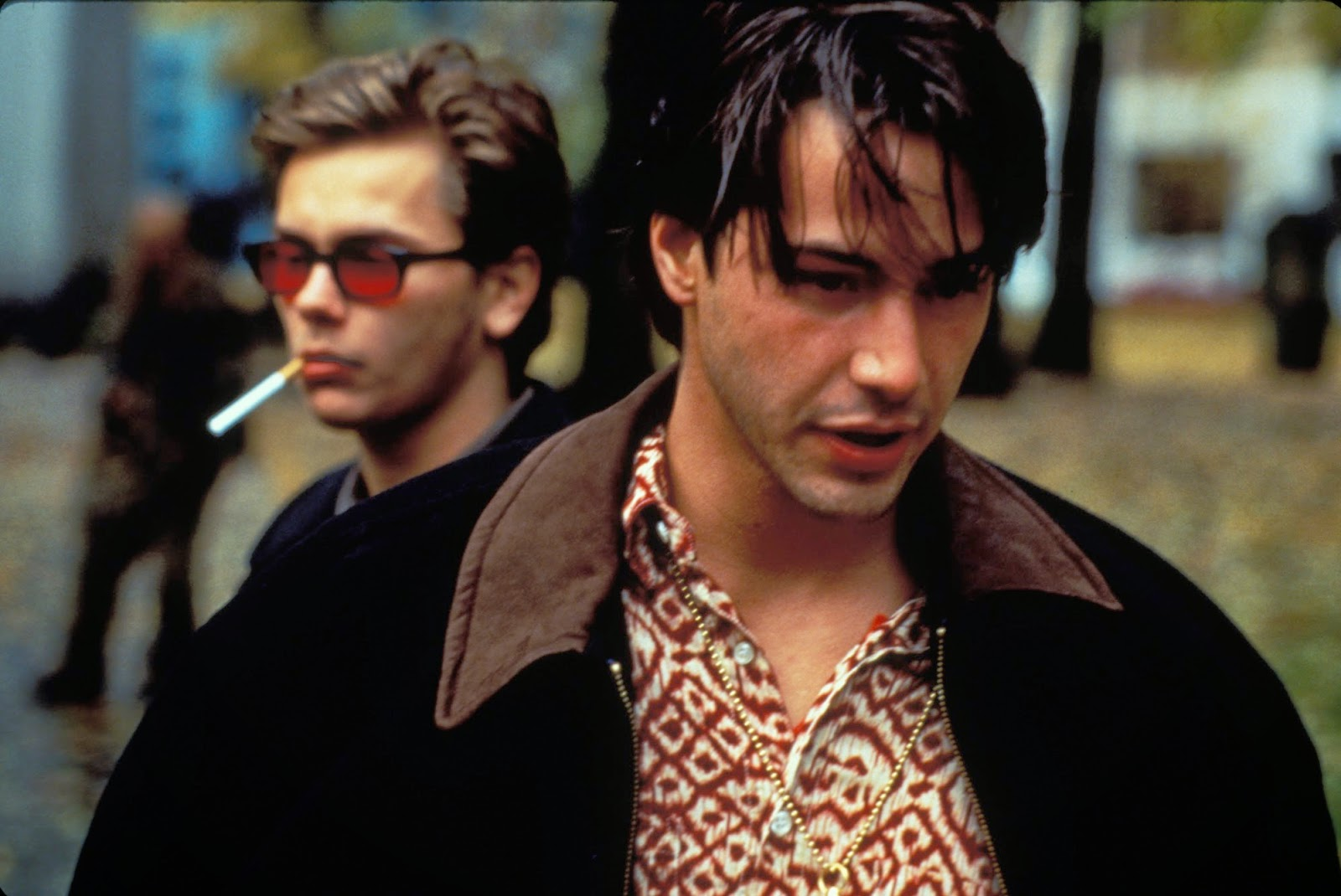 Film still from Van Sant's  My Own Private Idaho