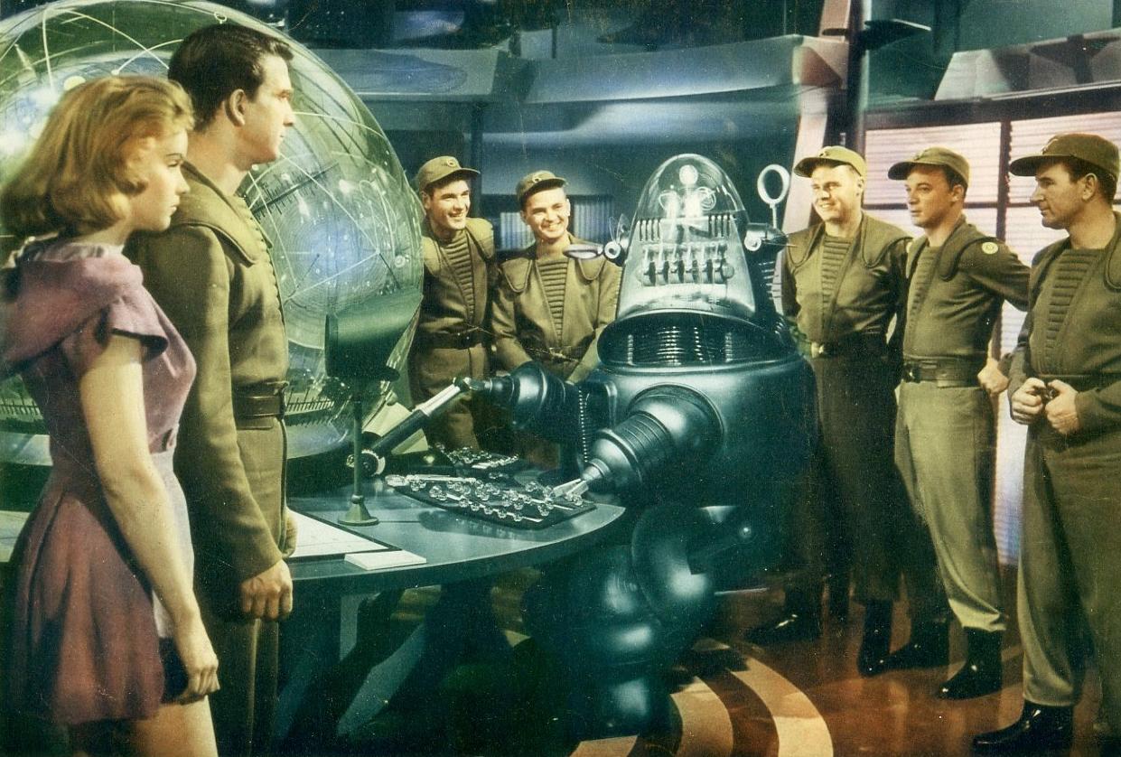 Film still from Wilcox's  Forbidden Planet