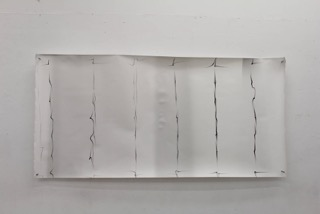 Noah Spivak,  Blueprint For A Better World,   Unique Fibre Prints, 4' x 8' (individually), 2013-14.