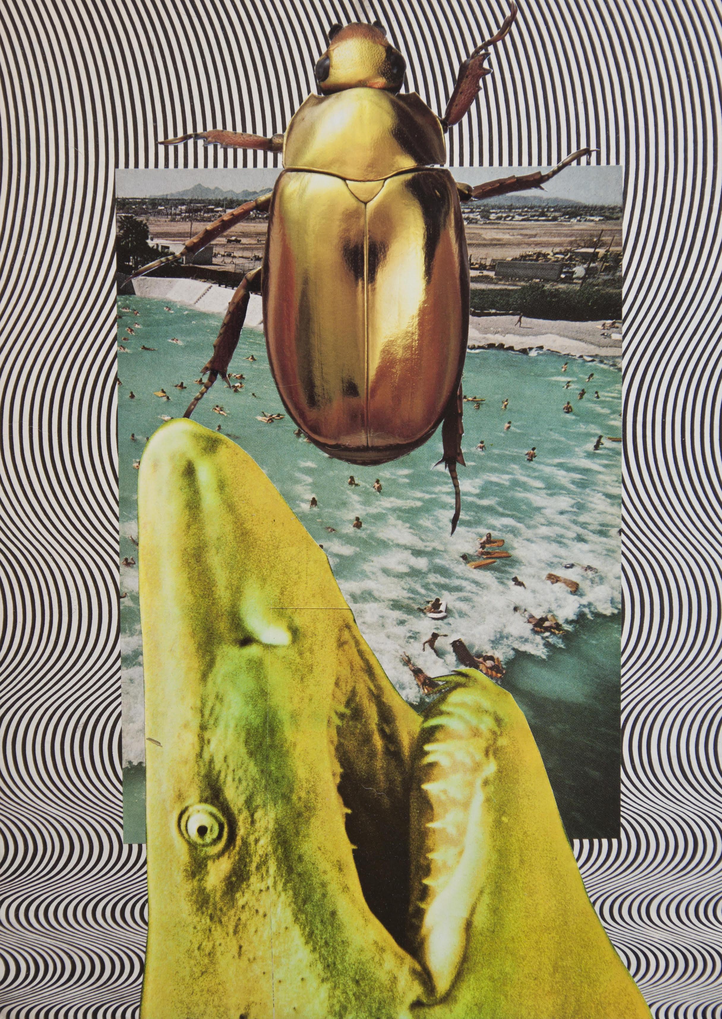 "Analog collage: ""Untitled (2015)"" by Jordan Westre"