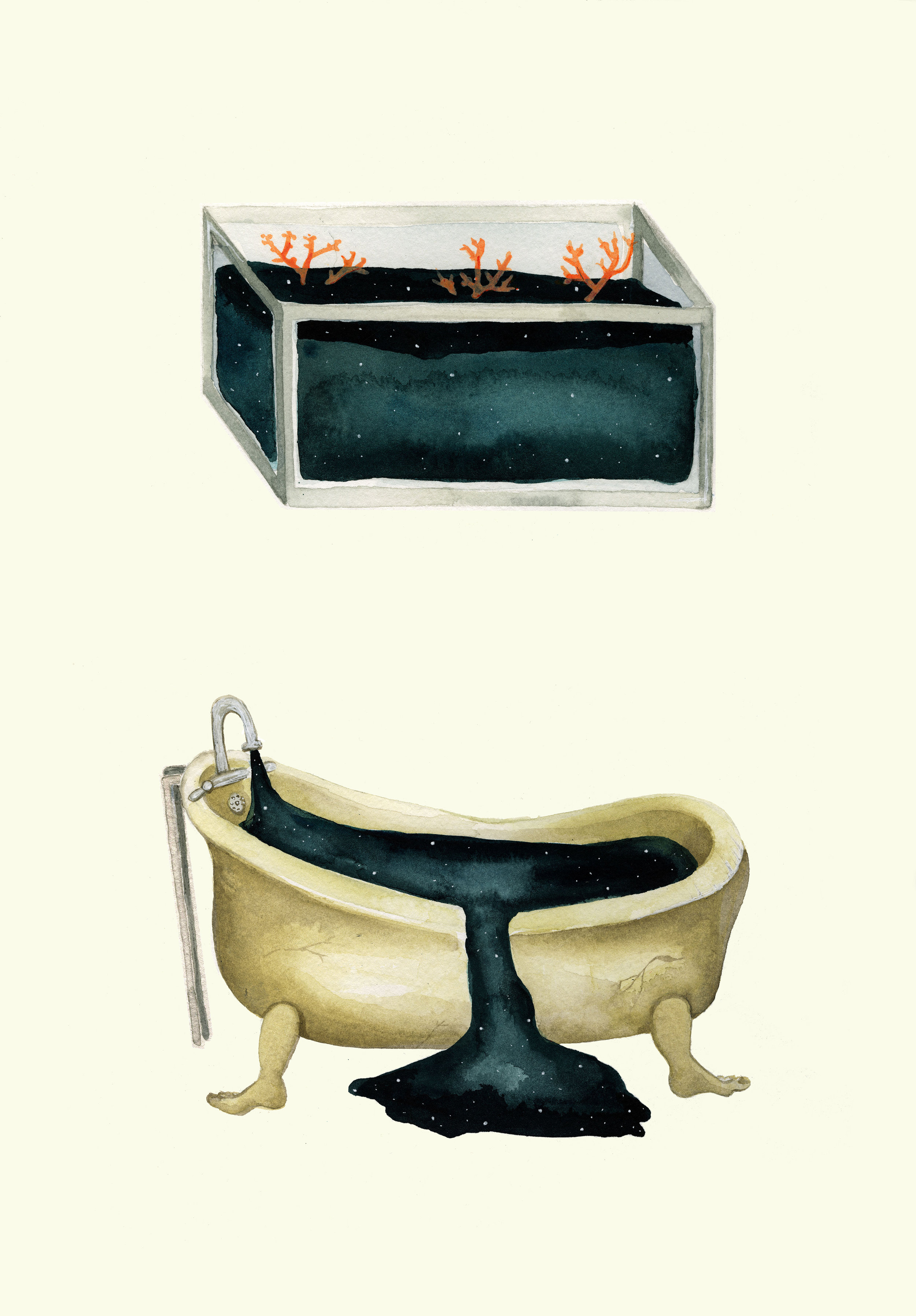 "Illustration: ""Tub & Tank"" by Eva Dominelli"