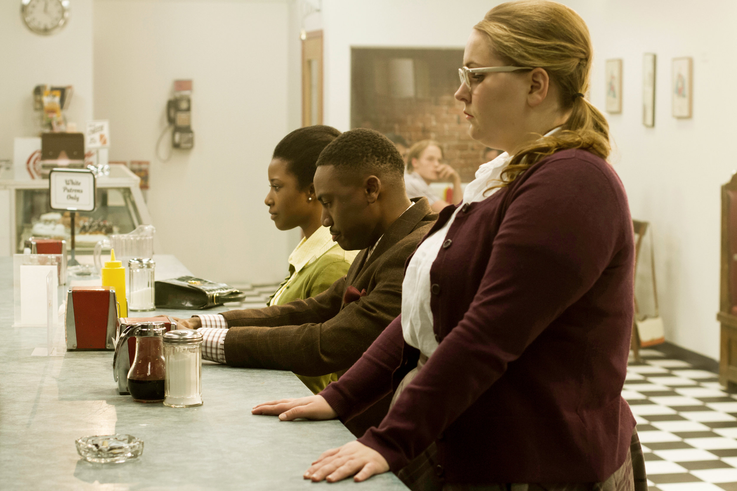 Film still from  Counter Act