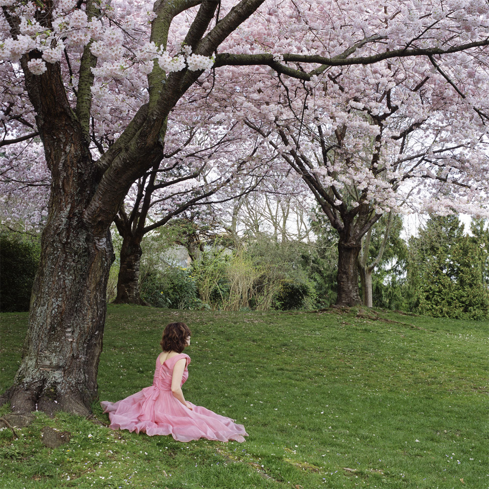 Karin Bubaš,  Pink Dress And Cherry Blossoms (2006) Digital C-Print.