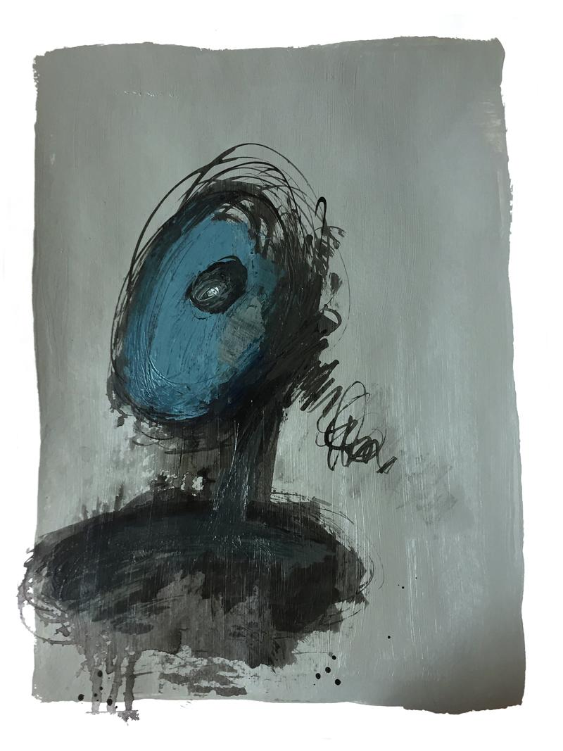 "Laurel Swenson, ""Apocalypse Head 4"", from the series  Apocalypse Portraits"