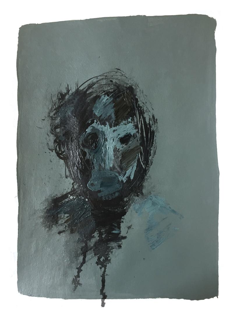"Laurel Swenson, ""Apocalypse Head 5"", from the series  Apocalypse Portraits"