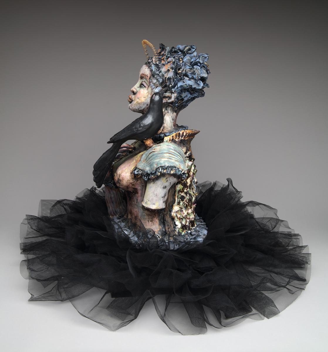 "Suzy Birstein, "" Bird Whisperer"", from the series  Tsipora"