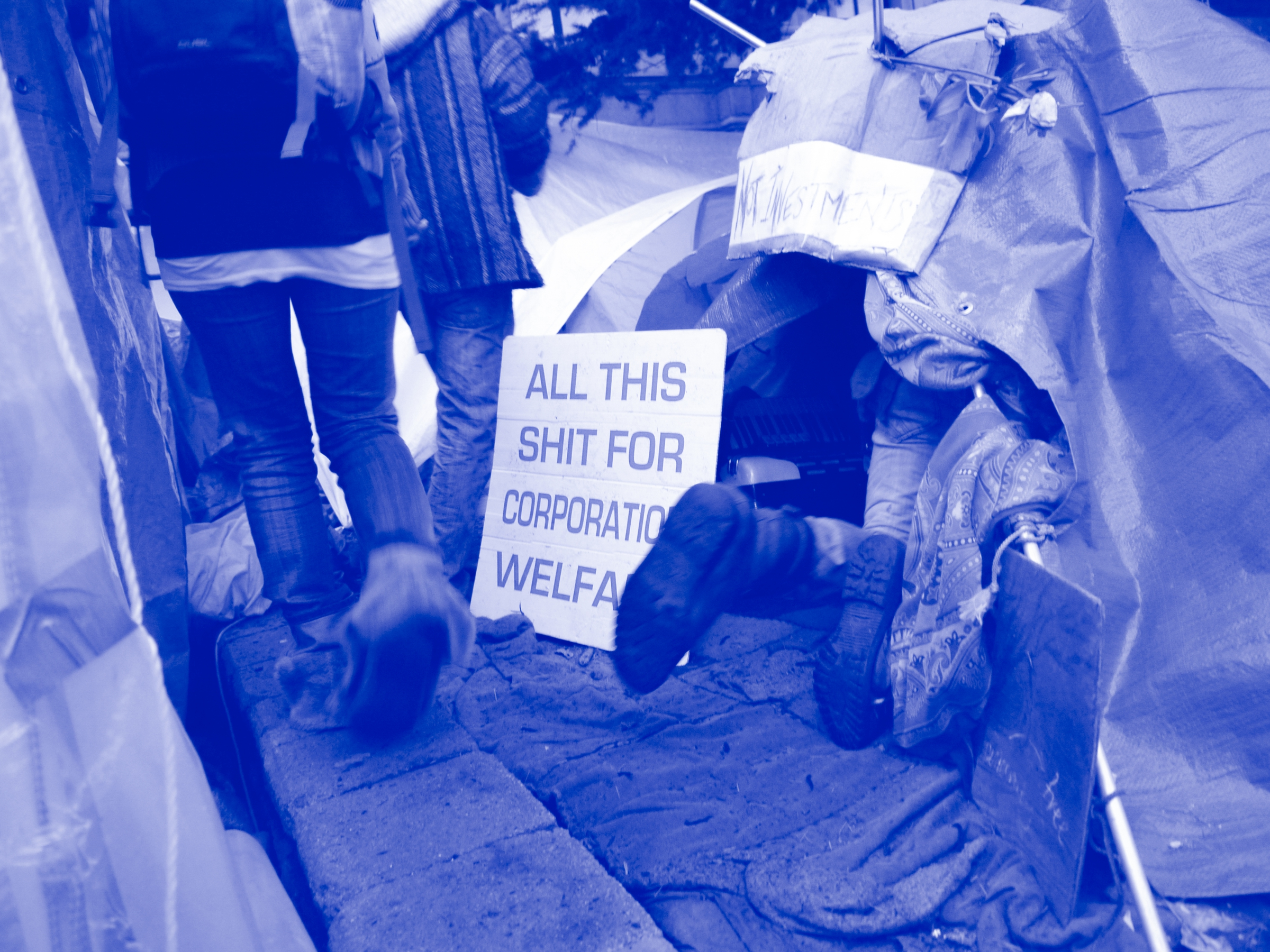 Sally Buck, Occupy Protest—All This Shit—Nov 6 2011 , 2011