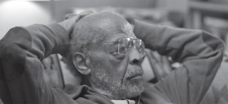 Film still from Rami Katz's  The Issue of Mr O'Dell  (2018)