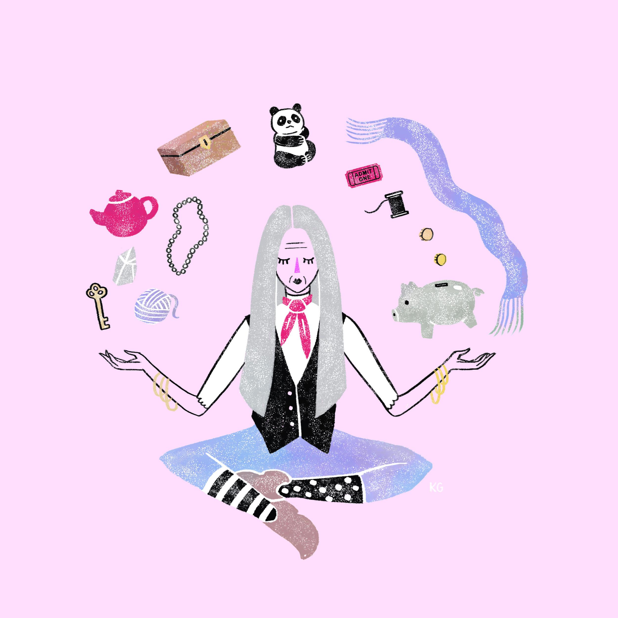 Illustration by  Krista Gibbard