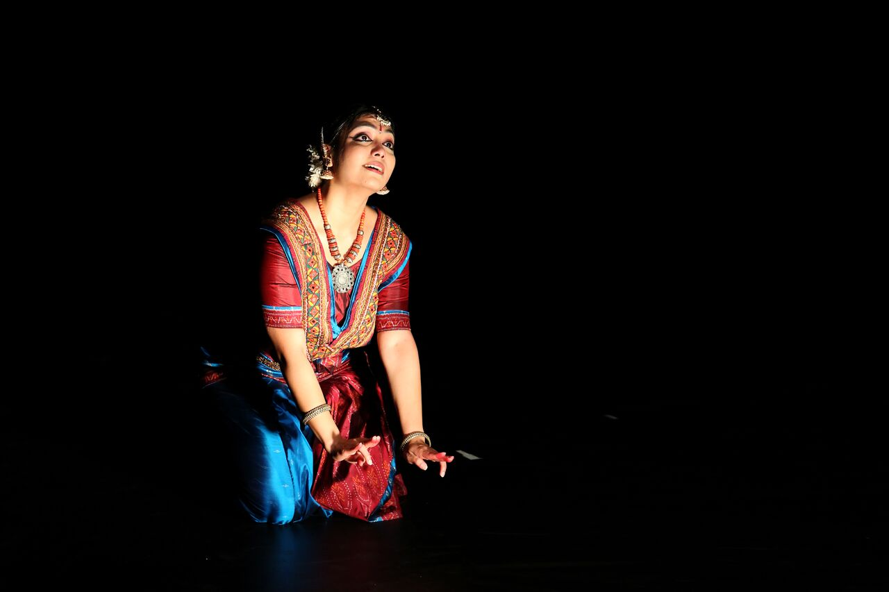 Arno Kamolika in  Shyama . Photo via  Diwali in BC.