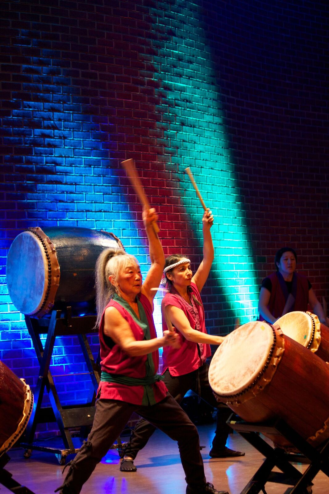 Sawagi Taiko & Tzo'kam. Photo via Heart of the City.