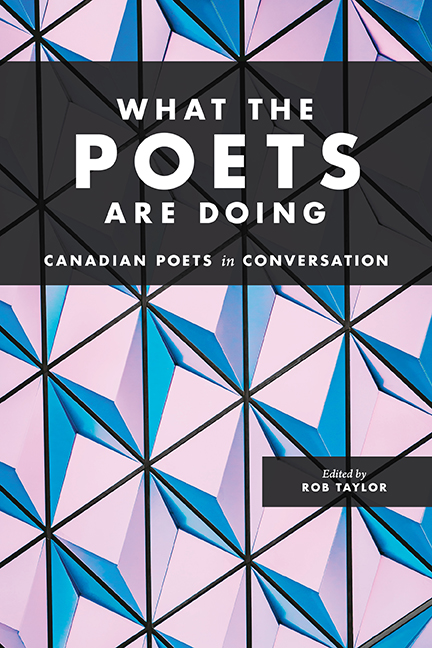 What the Poets are Doing. Cover image via Harbour Publishing.