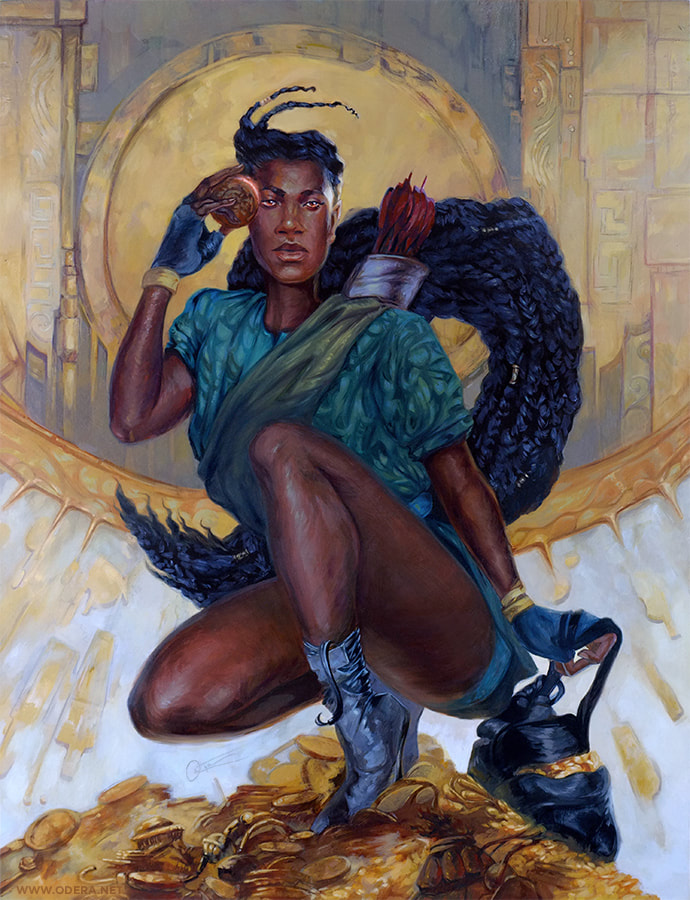 Robyn Hood  by Odera Igbokwe, via Odera.net