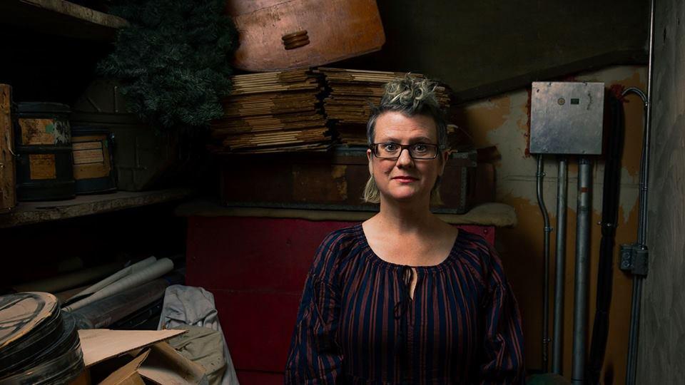 Veda Hile, photo by Matt Reznek via Shadbolt Centre for the Arts.
