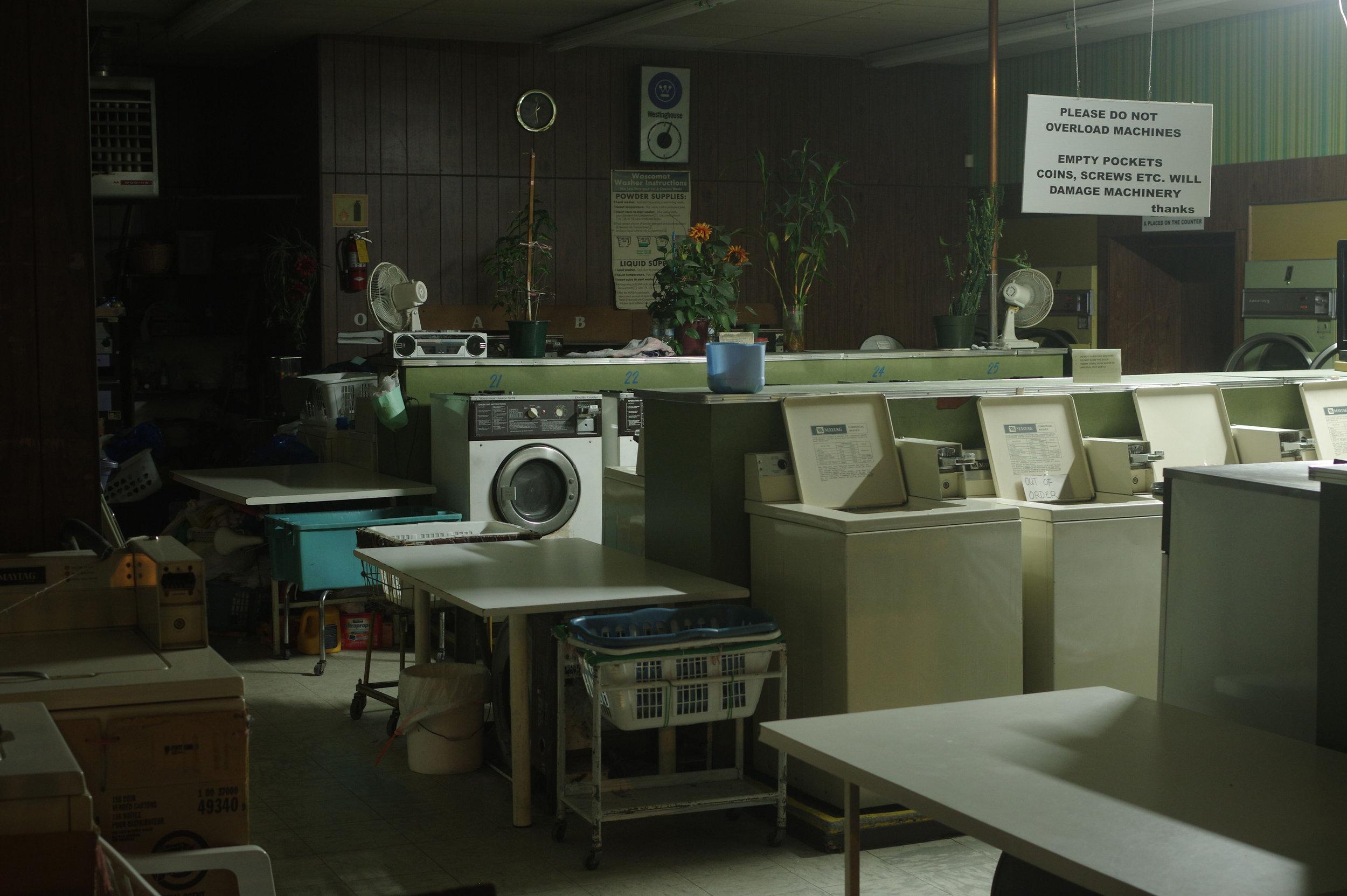 Laundromat, 2019. Technique: Digital Long Exposure.
