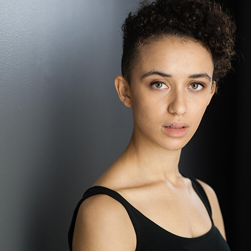 Lili Robinson, winner of New Play Prize for  Mx  at 2019 Vancouver Fringe Festival