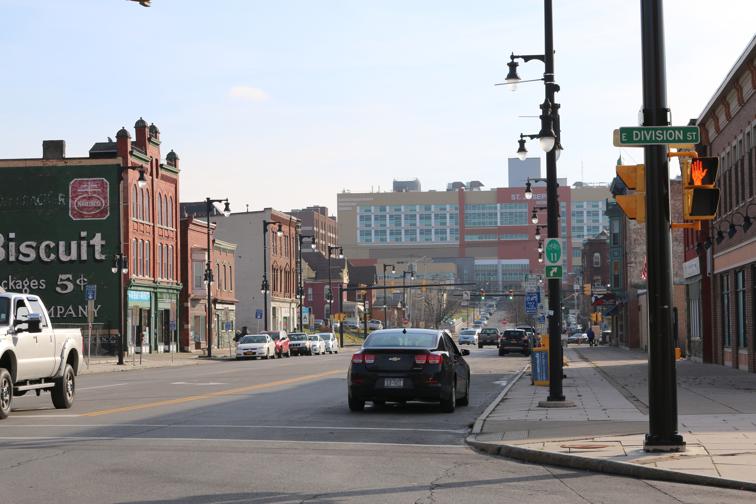 North Salina Street (in Syracuse's North Side)is a center for immigrants and refugee life