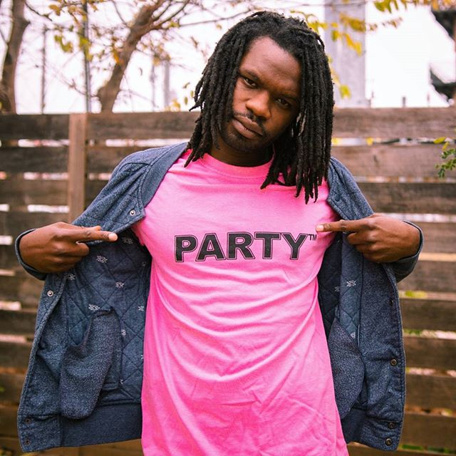 PARTY™ -- your new personal trademark  The latest design from PartyHat Productions is coming soon! Printed in Austin, TX and delivered to your door in an actual pizza box. Get hype 🕶