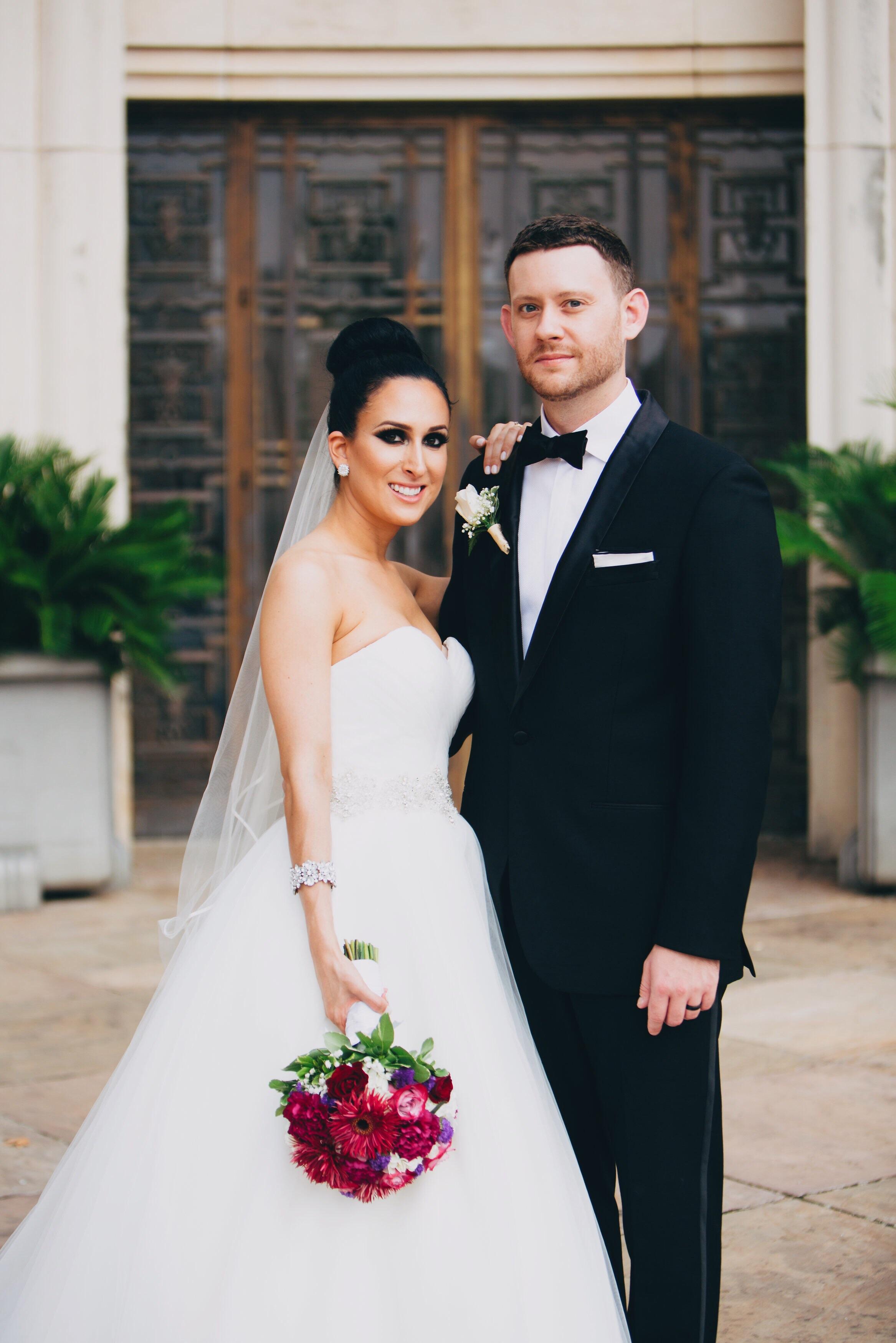 Aubrey Markson + Patrick Peluso Wedding