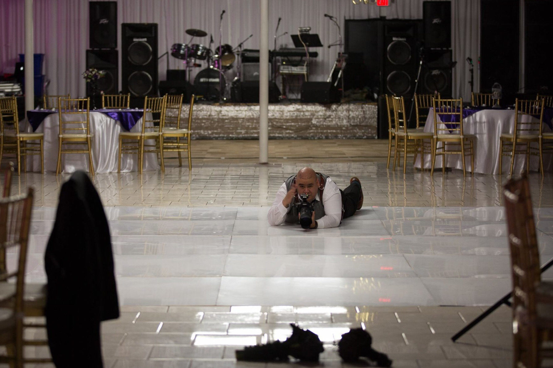 Me shooting the Bouquet