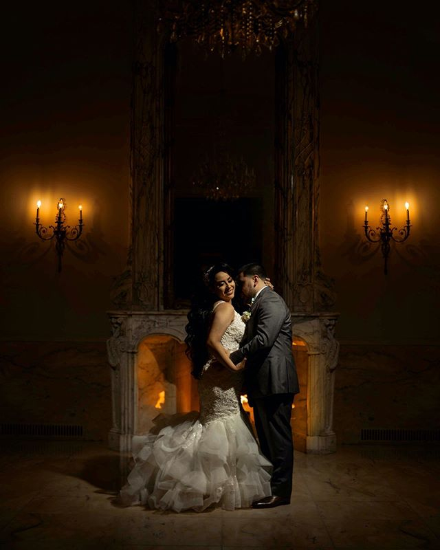 Mr. & Mrs Capistran from Houston Texas 👰🏻 🤵🏻 Y'all enjoy this cold weather by the fire tonight.  Wedding was amazing so honored by you having us there. ♥️