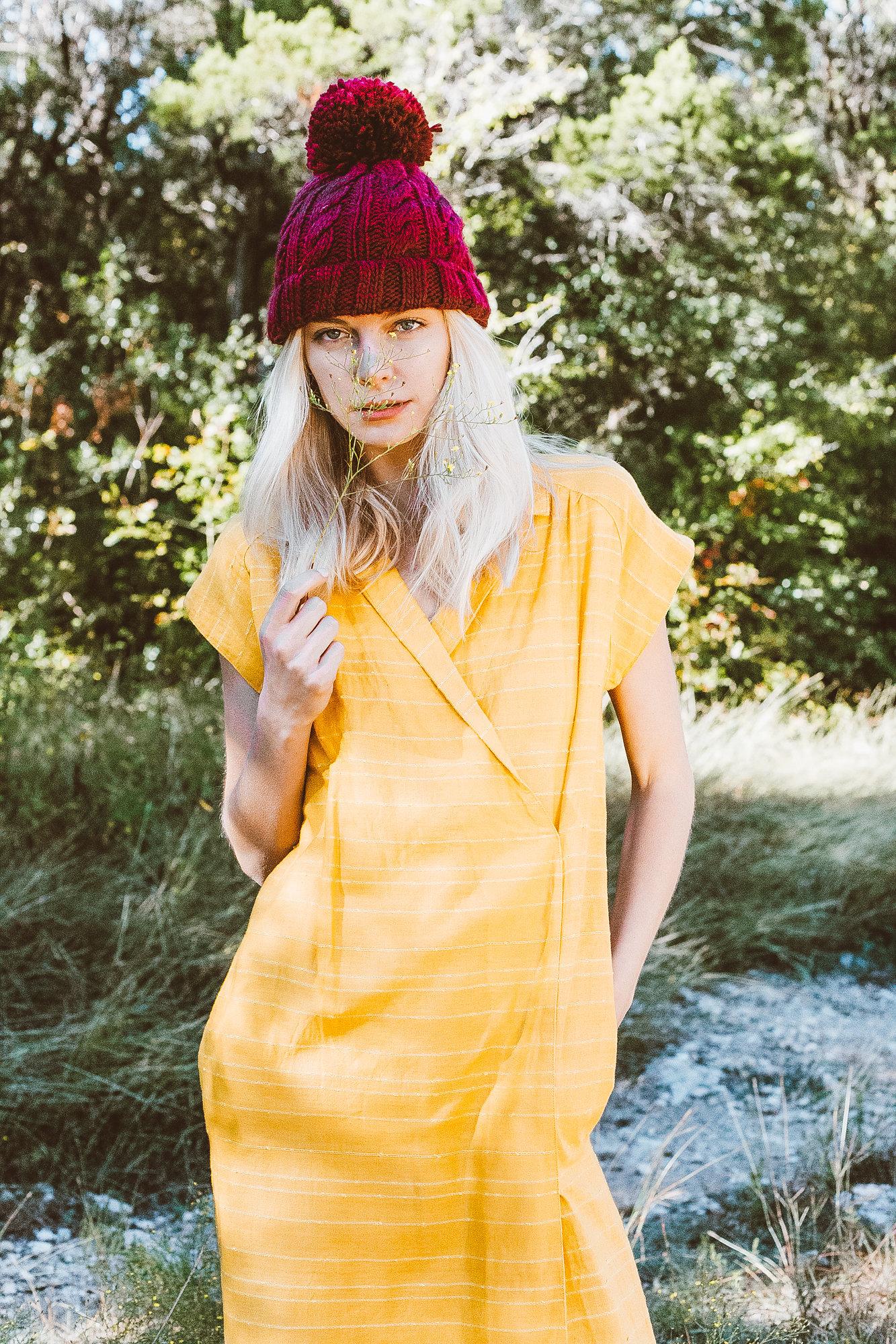 Pieceology-Vintage-1960s-Mustard-Wrap-Dress-1.jpg