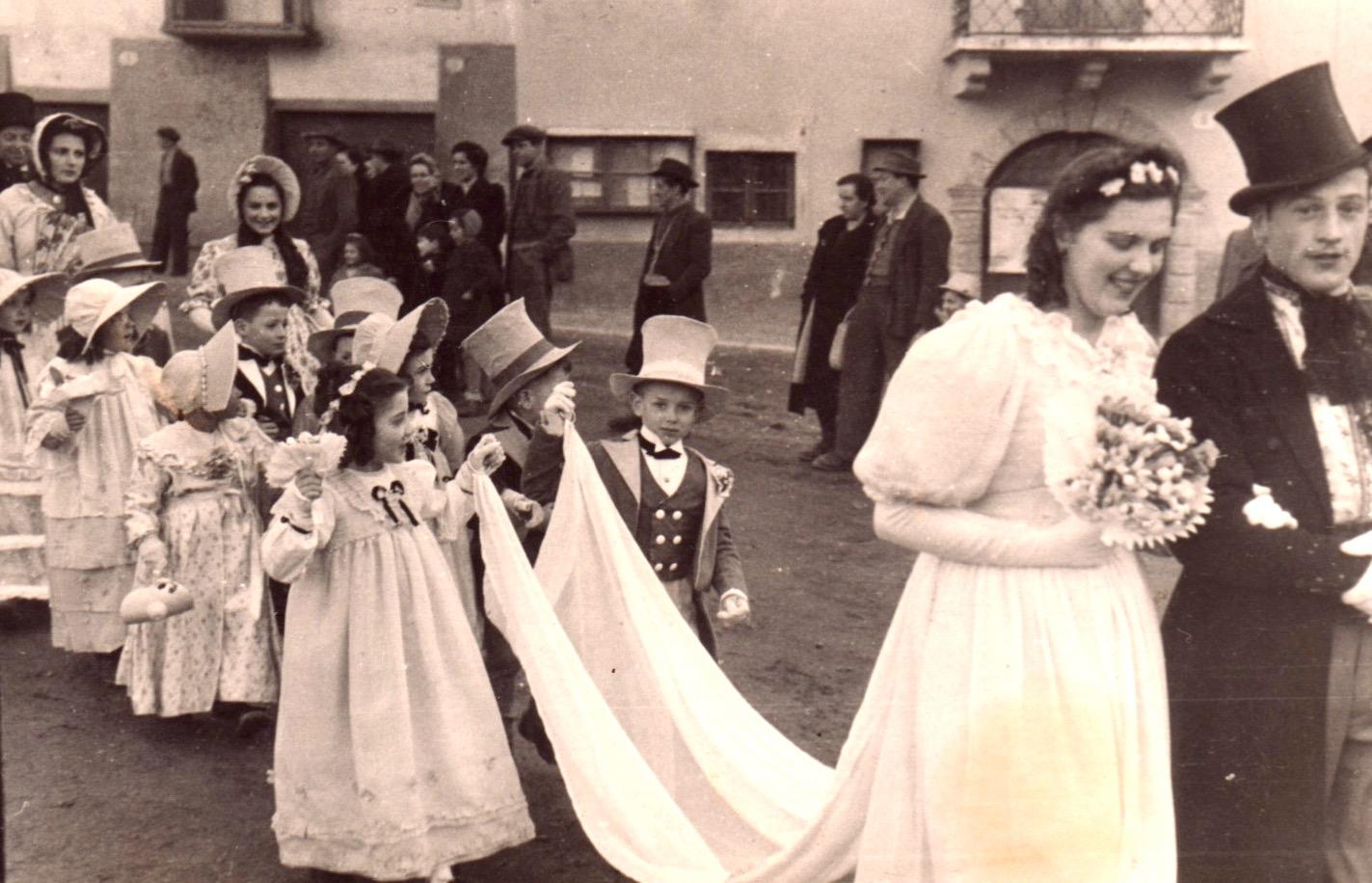"""Maschggra-Umzug """"1000 und 1 Nacht"""" 1948 Sfilata di Carnevale """"1000 e una notte"""" 1948"""