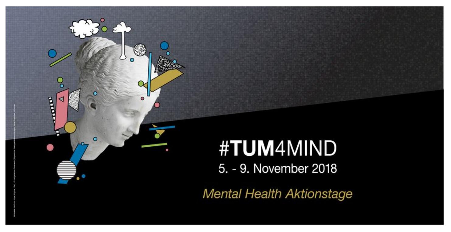 #TU4MIND - Mental Health Aktionswoche an der TU München