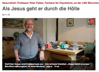 Screenshot des Artikels auf www.hallo-muenchen.de: Foto: rea