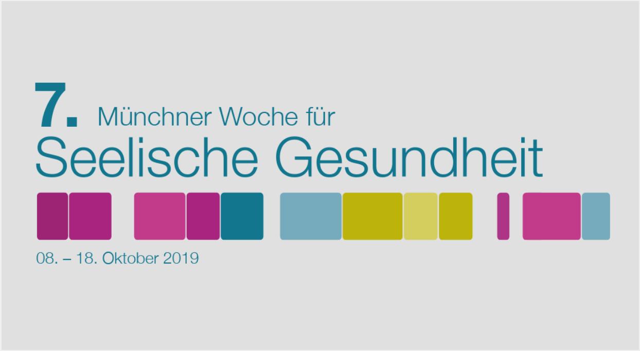 Logo der 7. Münchner Woche für Seelische Gesundheit
