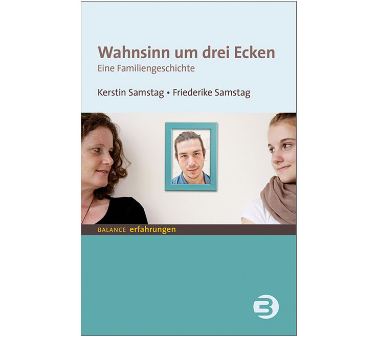 """Buchcover: """"Wahnsinn um drei Ecken"""", Balance-Verlag"""