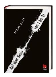 """Das Cover der deutschen Ausgabe des Romans """"Auf einer Scala von 1 bis 10"""" von Ceylan Scott erschienen im Chicken Verlag"""