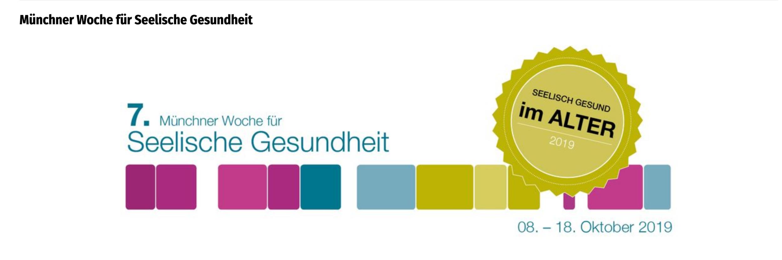 Header der Webseite zur Münchner Woche der Seelischen Gesundheit