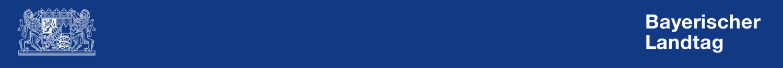 Header der Webseite des Bayerischen Landtages