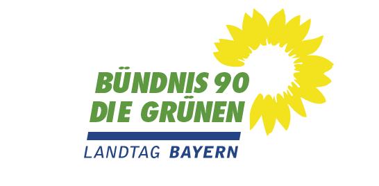 Logo der Parteifraktion von Bündnis 90/ Die Grünen im Bayerischen Landtag